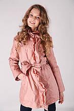 Детский плащ для девочки Верхняя одежда для девочек RIZZIBOY Италия 1G53F