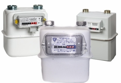 Счетчики воды,газа; сигнализаторы газа.