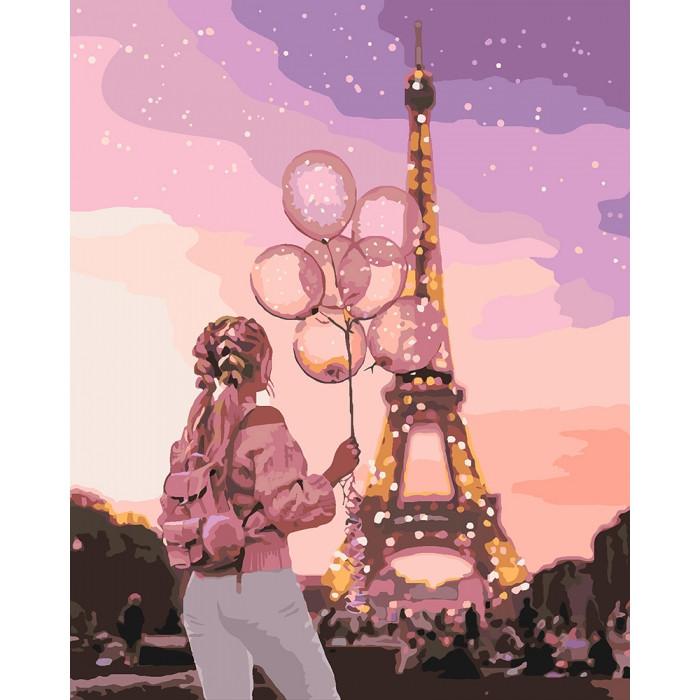 Картина по номерам Місто романтики, 40x50 см., Идейка