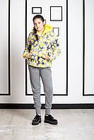 Детская куртка для девочки Верхняя одежда для девочек iDO Италия 4 R954/00 Желтый