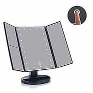 Зеркало Superstar Magnifying Mirror для макияжа с LED-подсветкой, фото 4