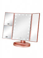 Зеркало Superstar Magnifying Mirror для макияжа с LED-подсветкой, фото 5