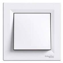 Кнопковий вимикач 1-кл. білий Asfora EPH0700121