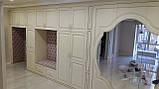 Мебель на заказ под интерьер Днепр. Шкафы-купе. Большой шкаф на всю прихожую в стиле классика., фото 5