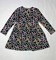 Трикотажное платье с длинным рукавом на девочку ТМ Бемби ПЛ259, фото 1