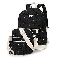Набор ZUOK рюкзак сумка для девочек черный