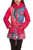 Детская куртка для девочки Верхняя одежда для девочек Desigual Испания 48E3096