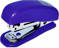 Степлер BUROMAX пластиковый №10 Мини синий