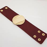 Кожаный браслет. Красивый браслет