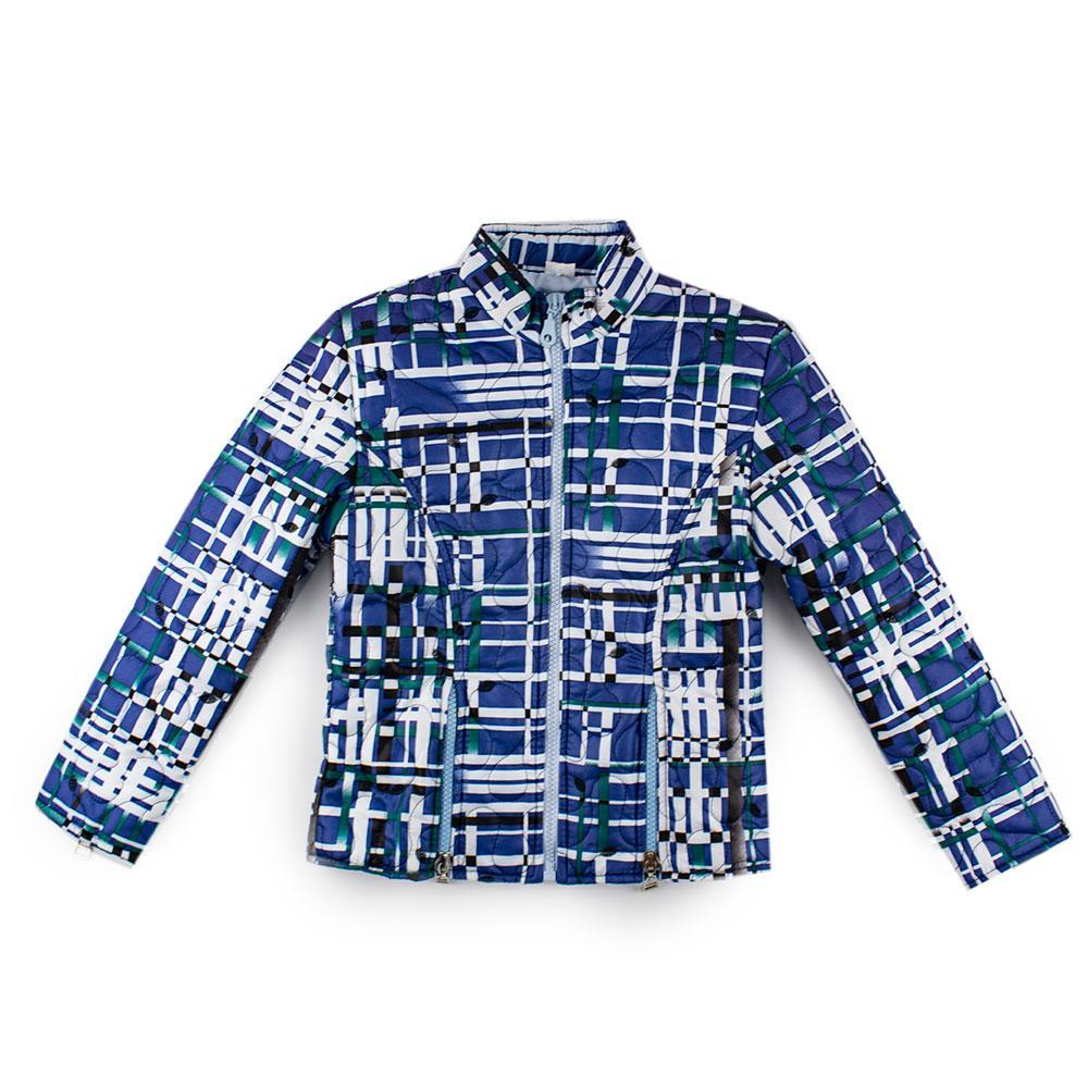 Куртка демисезонная для девочек Zibi 122  синий 706280535