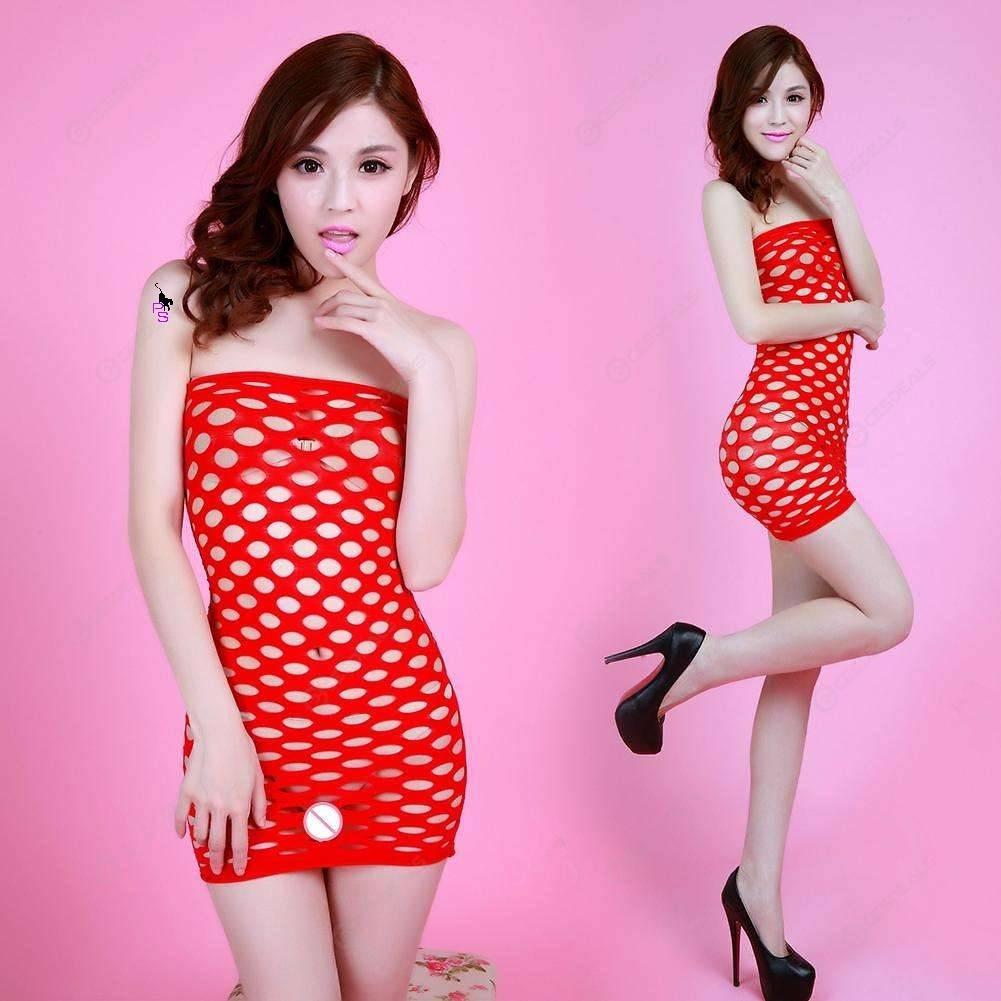 """Сексуальное сетчатое платье """"Альба""""14426 для Вашей фигурки"""