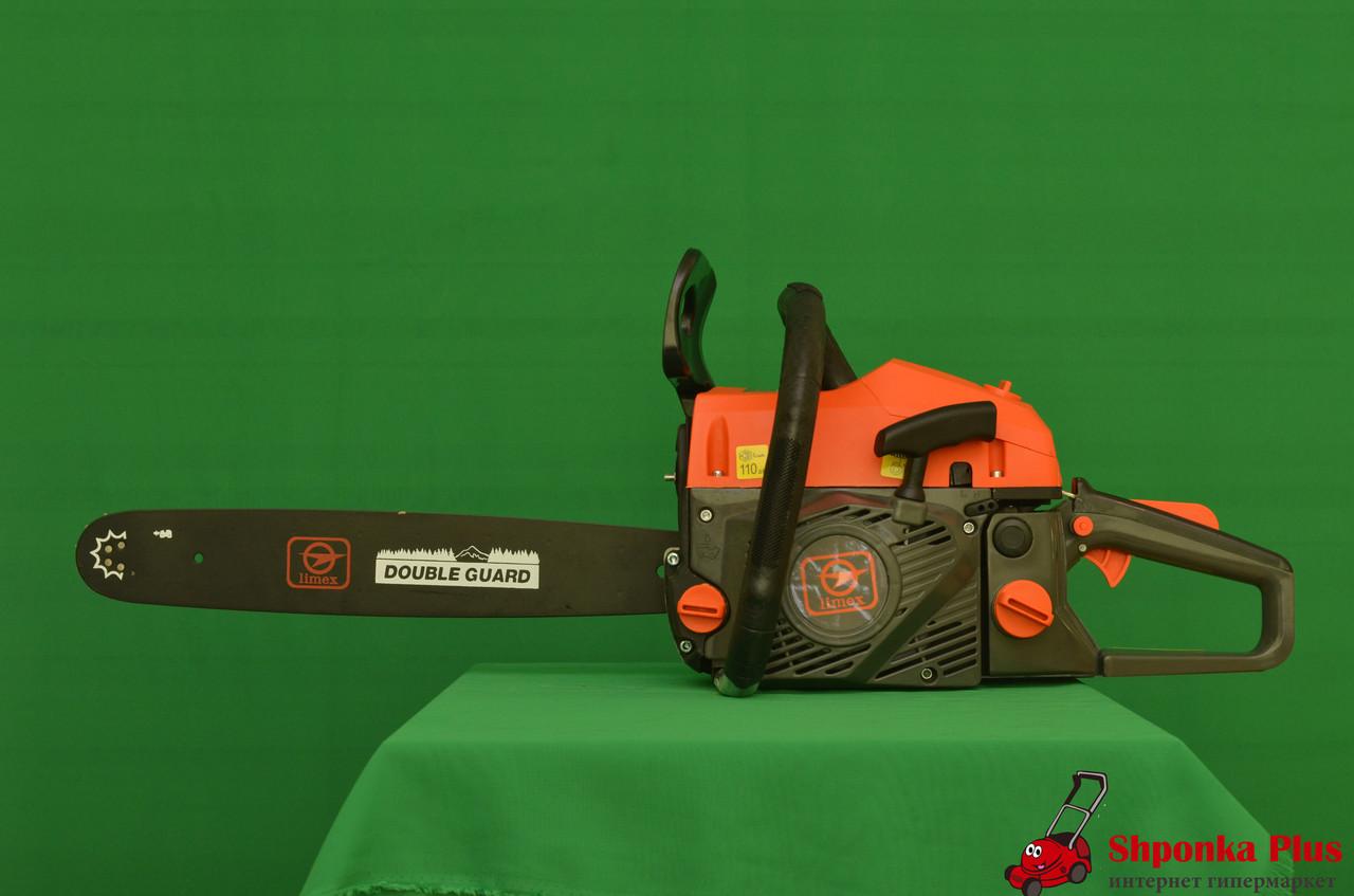 Бензопила 15 +18 дюймов, 3,8 л.с. Хорватия  Limex Mp 452n (2 шины 2 цепи)