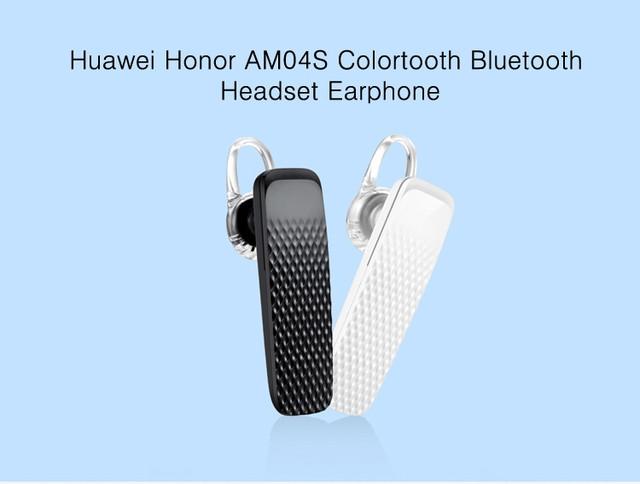 Bluetooth гарнитура Huawei Honor Colortooth AM04s Handfree Белая Черная