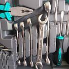 """Набор инструмента STELS 142 ед. """"Все що треба"""" с пожизненной гарантией +противоуд. кейс 14107, фото 6"""