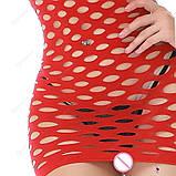 """Сексуальное сетчатое платье """"Альба""""14426 для Вашей фигурки, фото 3"""