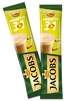 Кофейный напиток Jacobs 3 in 1 Amaretto 24 x 12 г