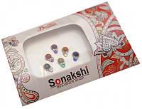 """9080030 Комплект наклеек на лицо или на ногти """"Sonakshi Bindi"""" №92"""