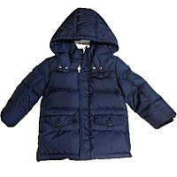 Детская куртка для мальчика BRUMS Италия 163BDAA004 Синий