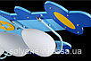 Люстра потолочная детская самолет 3073/4, фото 4
