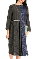 Женское платье серого цвета stella milani (Италия) размер универсальный