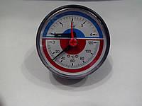 Термоманометр  горизонтальный EMMETI (осевой)