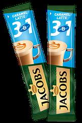 Кавовий напій Jacobs 3 in 1 Latte Caramel 24 x 12,3 г