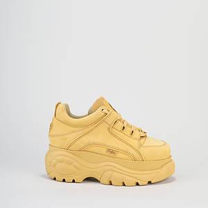 Женские Ботинки BUFFALO low yellow Желтые