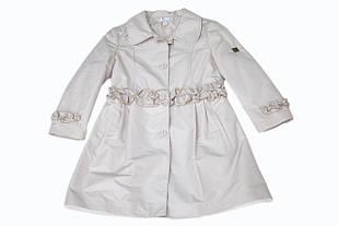Детский плащ для девочки Верхняя одежда для девочек BABY A Италия K0898