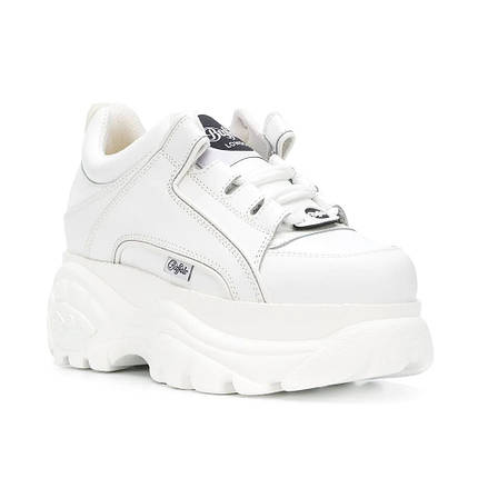 Женские Ботинки BUFFALO low white белые, фото 2