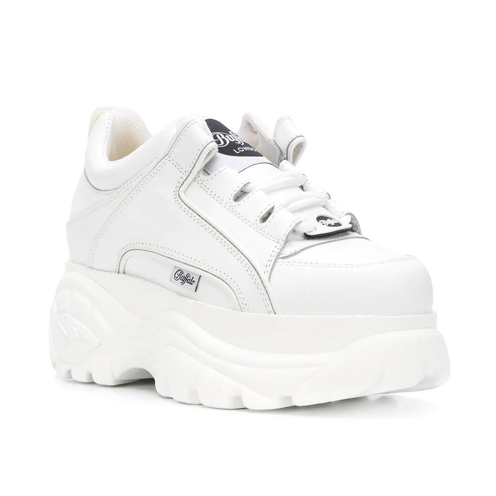 Женские Ботинки BUFFALO low white белые