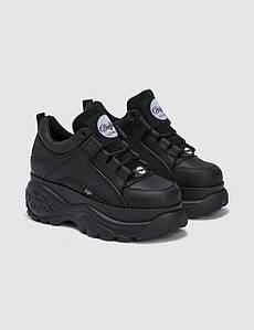 Женские Ботинки BUFFALO low black черные