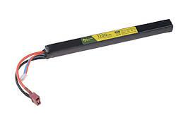 Аккумулятор LiPo 11,1V 1200mAh 2S/20C; под крышку ствольной коробки АК -T-Connect (Deans) [ElectroRiver]