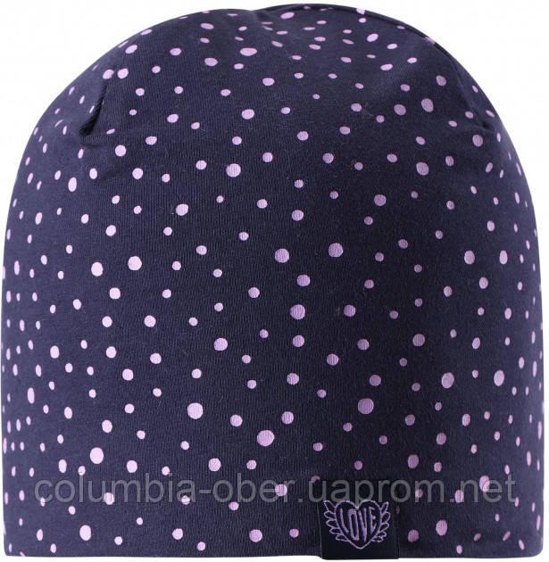 Демисезонная шапка для девочки Lassie by Reima Sani 728761-6951. Размеры 46/48, 50/52 и 54/56.