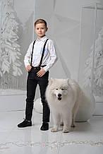 Детская рубашка для мальчика Школьная форма для мальчиков Byblos Италия BU0534