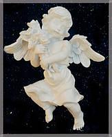 9260337 Ангел с букетом настенный