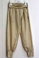 Детские брюки для девочки Illudia Италия 2695 Коричневый