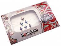 """9080030 Комплект наклеек на лицо или на ногти """"Sonakshi Bindi"""" №32"""