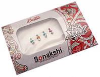 """9080030 Комплект наклеек на лицо или на ногти """"Sonakshi Bindi"""" №51"""