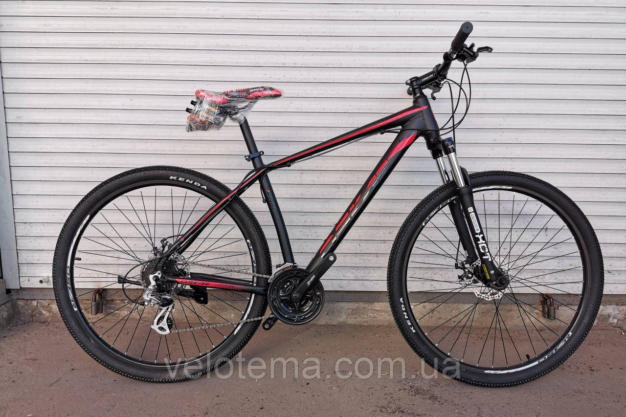 """Велосипед Oskar 29"""" JURA чорно-червоний"""