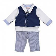 Детский костюм для мальчика Нарядная одежда для мальчиков BRUMS Италия 151BBEA009