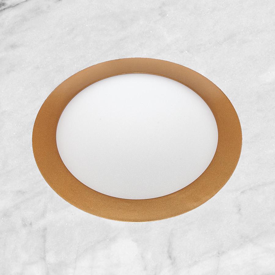 Врезной светильник (круг, 17см, 12W, холодный свет)