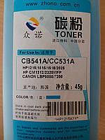 Тонер HP CLJ CP1215 cyan RMI (09907)