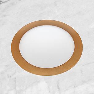 Врезной светильник (круг, 20см, 15W, нейтральный свет), фото 2