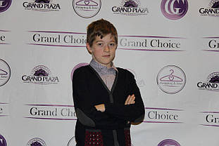 Детский кардиган для мальчика ASTON MARTIN Италия AJJI6124 CD, синий,