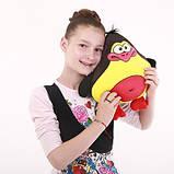 Антистрессовая игрушка-подушка, полистерольные шарики, фото 5