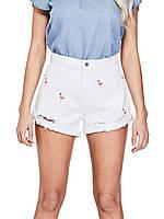 Женские летние шорты с фламинго Guess