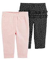 Симпатичные трикотажные штанишки Картерс для девочки