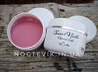 Гель камуфляж для наращивания натурально-розовый Latte  от Sweet Nails 30грамм