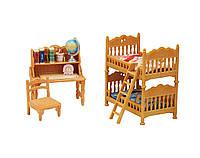 Игровой набор Детская комната Calico Critters Children's Bedroom Set
