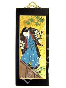 """9290057 Картина 17 * 40 см. """"Самураи"""" №3"""